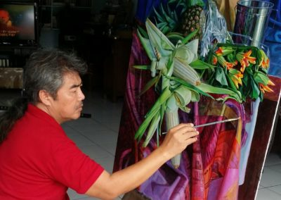 Cee Cadid in his studio